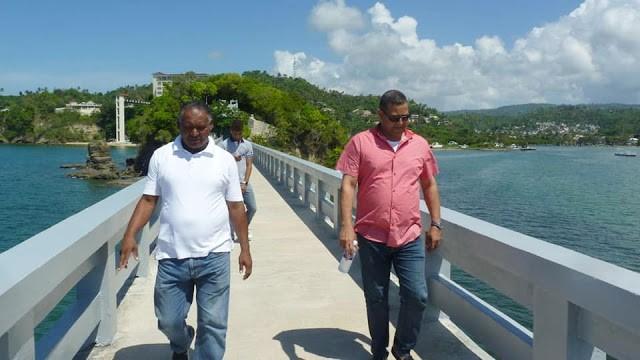Alcalde Nelson Núñez supervisa Los Puentes